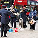 Londonas prieš Kalėdas, muzikantai