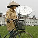Fermeris eina pro palydovų kontrolės centrą, iš kurio bus valdomas pirmas Vietname paleistas palydovas Vinasat-1