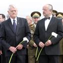 Valdas Adamkus, Juozas Olekas ir Petras Vaitiekūnas