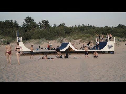 "Ant jūros kranto – unikali ""gyva"" kompozicija ekstremalams (FOTO, VIDEO)"
