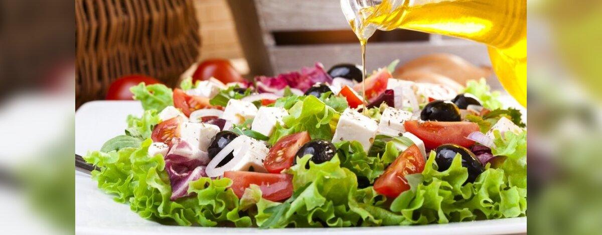 ar salotos verčia numesti svorio