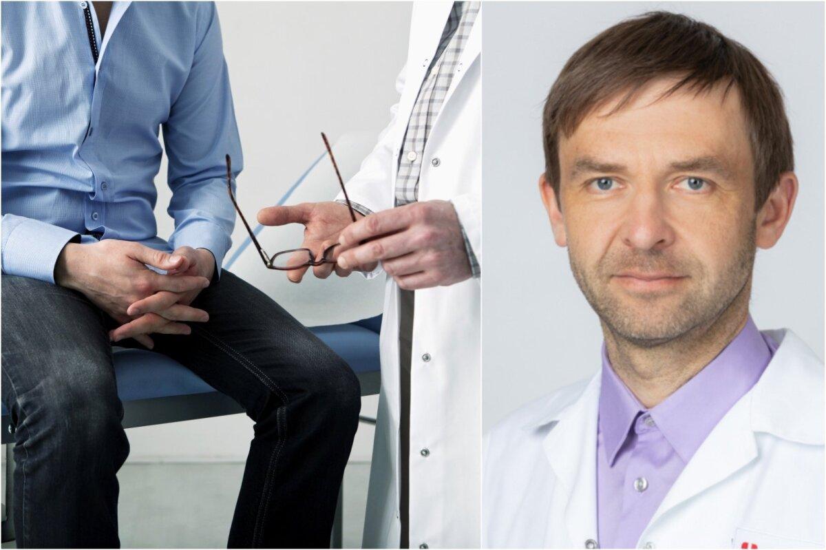 Prostatos vėžio pacientai Jungtinėje Karalystėje dėl erekcijos sutrikimo palikti likimo valioje