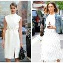 Maža balta suknelė vasarai: 10 variantų