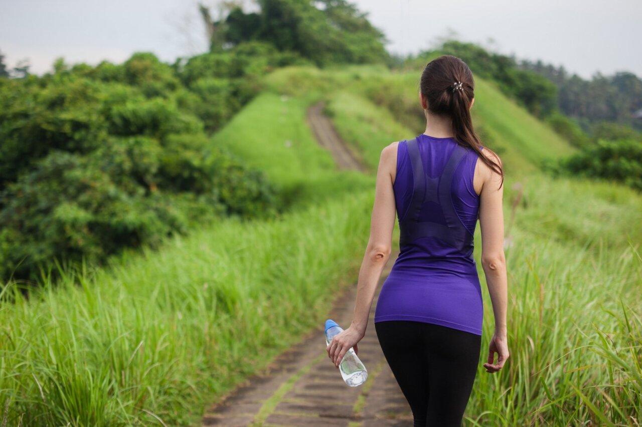 vaikščioti bėgioti širdies sveikatai