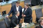 Saugumiečiai moko parlamentarus budrumo