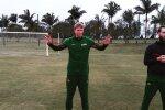 Lietuvos rinktinė – jau Brazilijoje: Rio pašonėje surengė treniruotę futbolo stadione