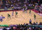 """""""Lakers"""" naujoko L. Ballo trigubas dublis rungtynėse su Bostono klubu"""