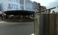 Belgijoje iškeptas omletas iš 10 tūkst. kiaušinių