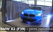 """Naujasis """"BMW X2"""": pirmas žvilgsnis į sportiškąjį bavarų SUV"""