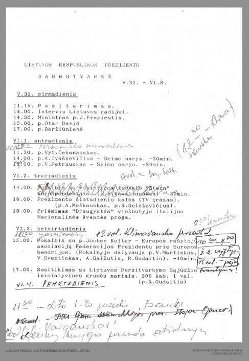 1993 m. prezidento rinkimai (Kaišiadorių muziejaus nuotr.)