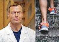 Pažiūrėkite į savo senus batus, daug ką sužinosite apie sveikatą: gydytojas įvardijo pavojingus atvejus