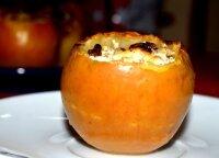 Įdaryti kepti obuoliai