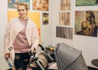 Ineta Stasiulytė: į gimdymą važiavau, kaip į šventę – pasidažiusi blakstienas