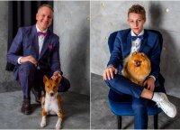 Artėjant Šuns dienai, surengė ypatingą fotosesiją: šie šunų šeimininkai – retenybė