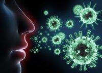 Gripas, peršalimas ar koronavirusas: ką daryti pajutus pirmuosius simptomus?