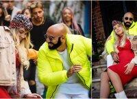 """Sezzy pristato bendradarbiavimo su """"Sony Music"""" vaisių: vaizdo klipe – ir šokanti besilaukianti jo žmona Paula"""