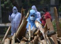 Indijoje 11 koronavirusu užsikrėtusių pacientų mirė dėl medicininio deguonies stygiaus