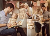Ineta Stasiulytė ir Deividas Meškauskas savo dukrelei Frėjai surengė pasakišką šventę tik su artimiausiais žmonėmis