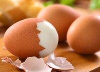 Kad virti kiaušiniai luptųsi lengvai: padės paprasčiausia kanceliarinė priemonė