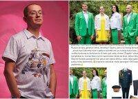 Pogrebnojus pasibaisėjo oficialia olimpine apranga: gaila sportininkų, manoji – 1000 kartų gražesnė