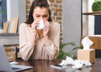 Jaučiantiems alergiją – rizika dėl koronaviruso: kvėpavimo takų gleivinė tampa imlesnė virusinei infekcijai