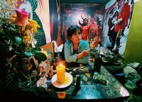 Šamanai su ligomis kovoja savaip: tiki, kad padės juodoji magija ir blogųjų dvasių išvarymas