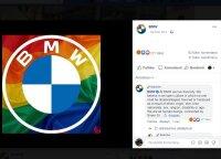 LGBT spalvomis papuoštas BMW logotipas sukėlė audrą: bendrovė kalba apie lygybę, internautai tūžta