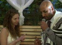 Vestuvės karantino metu: svečiai transliaciją stebėjo internete