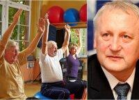 Profesorius: yra paprastas sveikatos stiprinimo būdas, padedantis sumažinti net 26 ligų riziką