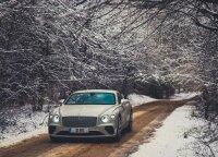"Naujo ""Bentley Continental GT"" testas: kai gali rinktis, automobilis – ar butas Vilniuje"