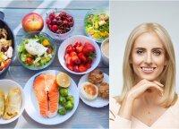 Mitybos specialistė pabrėžia pagrindinius mitybos principus: svoris taps normaliu, o savijauta ir nuotaika bus puiki