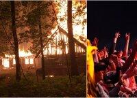 """Teismas paskelbė nuosprendį dėl gaisro Rumšiškėse per festivalį """"Granatos Live"""""""