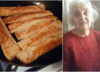 Močiutė parodė, kaip paprastai ir skaniai pasigaminti lietinius blynus, kuriuos valgys visi