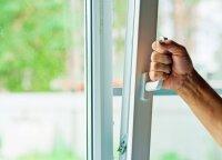 Atviras langas palengvina kietųjų dalelių patekimą į namus: kaip jų neįsileisti į patalpas
