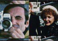 Kino teatruose atgimsta legendinis prancūzų atlikėjas Šarlis Aznavūras: gyvenimo akimirkas užfiksavo Editos Piaf padovanota kamera