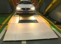Čongkinge pastatyta pirma įstrižojo automobilių statymo garažas