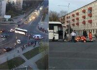 Tragiškas įvykis Panevėžyje: žuvo motociklo vairuotojas