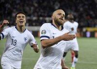 Suomijos futbolininkai pirmą kartą žais Europos čempionate