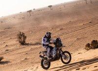 Arūnas Gelažninkas Dakaro finiše: geras jausmas – du iš dviejų, pradžia nebloga