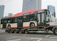 Žiniasklaida: į Vilnių vėluojama pristatyti naujus autobusus ir troleibusus