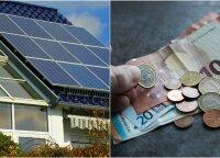 Lietuvis papasakojo, kiek jam kainavo įsirengti saulės jėgainę: dėl savo sprendimo nesigaili