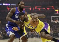 """Žvaigždžių debiutais pažymėtame Los Andželo derbyje – Leonardo ir """"Clippers"""" triumfas"""