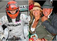 Du Schumacherio veidai: negailestingas kovotojas turėjo nematomą oazę už trasos ribų