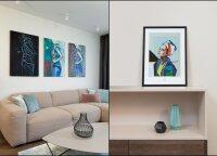 Interjero dizainerė parodė, kaip paveikslus paversti išskirtiniais namų akcentais