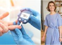 Sergantiems cukriniu diabetu – mitybos specialistės perspėjimas, kokių produktų vengti