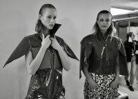 Lithuanian model Ieva hits the London Fashion Week catwalk