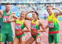 Naują formatą Europos žaidynėse išbandę Lietuvos lengvaatlečiai apdovanojimų neiškovojo