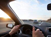 Įvardijo, kokius pavojus rudenį turėtų įvertinti vairuotojai