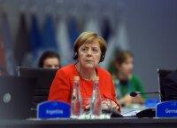 Merkel: gamtinės dujos tiek iš Rusijos, tiek iš kitų šaltinių išliks svarbios