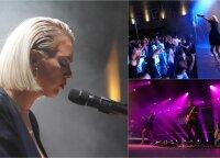 Monika Linkytė bičiulius ir gerbėjus sukvietė į akustinį koncertą: ant scenos pasirodė ir žinomi muzikos pasaulio veidai